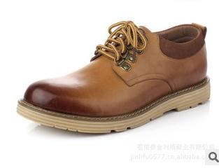 鞋子品牌潮男鞋新款男士大头皮鞋真皮休闲鞋承发