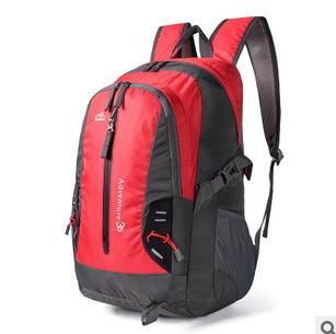 户外登山包双肩背包男女正品旅游旅行登山包35L银锋包邮