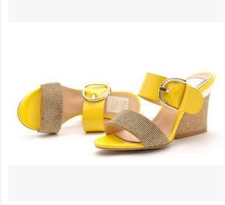 异形跟欧美时尚高跟拖鞋夏季水钻凉拖包邮