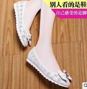 舒适平跟女凉鞋2015新款蝴蝶结浅口尖头时尚休闲鞋