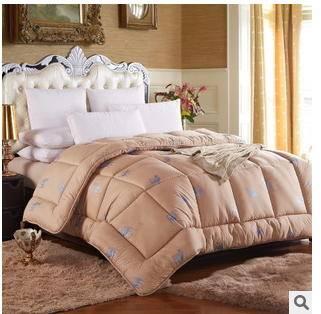 骆驼毛被子 冬被加厚单双人秋冬新品阿拉善驼毛被驼绒被芯 幻桃包邮