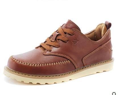 伐木大头工装鞋潮鞋英伦低帮鞋子休闲男鞋春夏男士真皮鞋包邮
