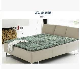 100%涤棉优质纤维LY157多功能单双人床垫可折叠床垫幻桃包邮