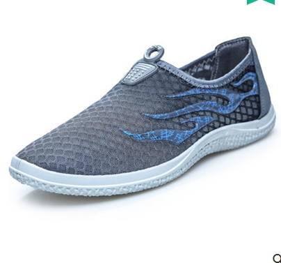 潮沙滩鞋网布鞋青年懒人鞋夏季男鞋透气运动日常休闲凉鞋