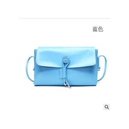 糖果色牛皮包包新款韩版时尚真皮女包时尚单肩斜跨包小包华大包邮