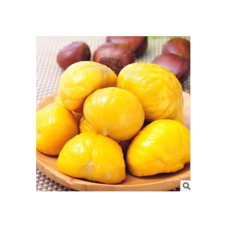 休闲食品 甜栗子 广西特产绿色食品新鲜熟制板栗仁105g