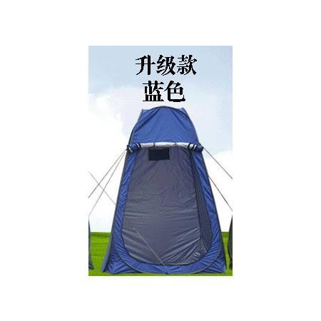 涂银更衣帐 WC帐篷 厕所帐篷 模特帐户外多用途帐篷 带窗沐浴帐 拓步