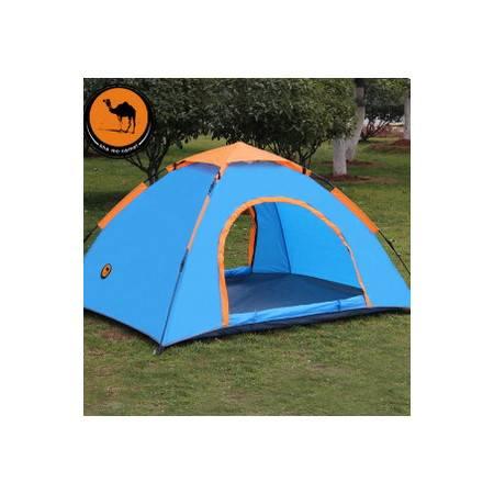 户外露营帐篷 野营帐篷1-2人单层自动帐篷 拓步