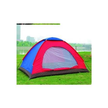 高品质双人双层单门户外休闲帐篷拓步