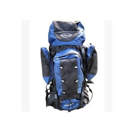 户外背包 双肩包送防雨罩蓝马羚 登山包 70L 大型背包 拓步