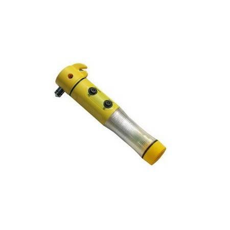 多功能汽车安全锤/四合一救生锤/多功能手电筒应急灯 消防锤拓步