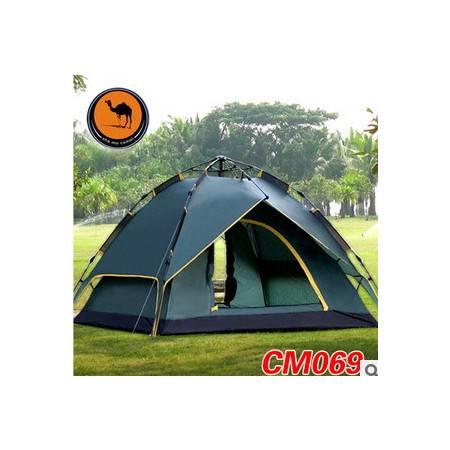 户外3-4人双层全自动三用帐篷多功能四季帐篷069带窗帘升级版拓步