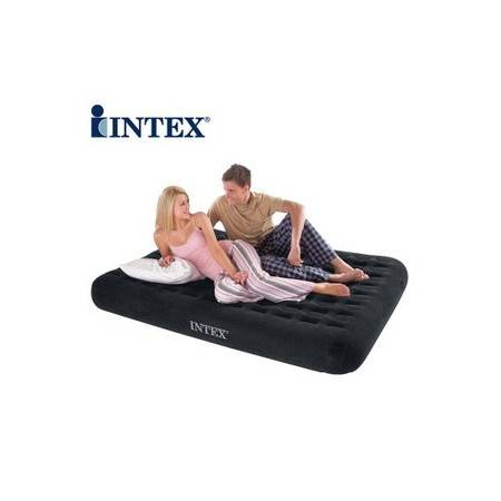 正品INTEX66724气垫床双人豪华立柱充气床垫不可退换货拓步