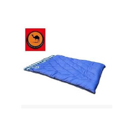 野外午休法兰绒睡袋双人情侣睡袋户外露营成人睡袋 拓步