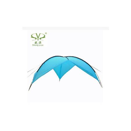 凉棚 雨棚 沙滩帐篷 防紫外线户外露营超大遮阳天幕 拓步