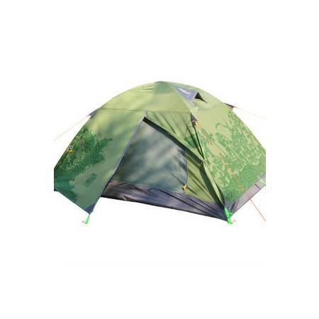 野外露营装备中国梦双人双门双层户外专业野营帐篷拓步包邮
