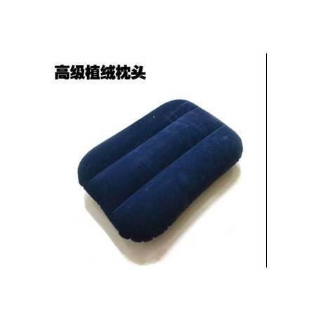 加厚植绒 靠腰枕 午睡枕 户外旅行充气枕头长方形 靠垫靠背垫腰 不可退换货拓步