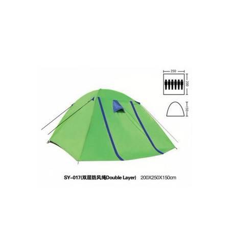 户外热卖帐篷6人多人双层旅游帐篷拓步