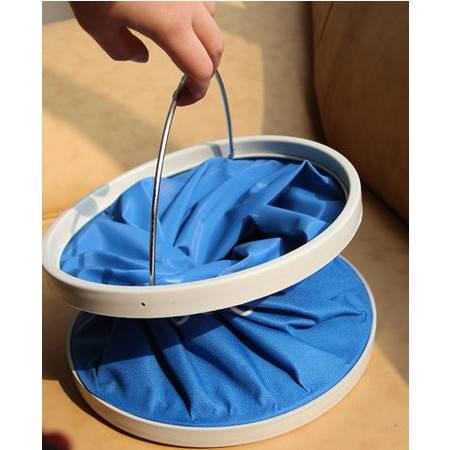 野营装备 户外用品【牛津帆布折叠水桶 】钓鱼伸缩水桶拓步