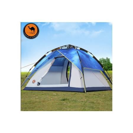户外双人多人星空露营帐篷3-4人双人野营全自动帐篷拓步