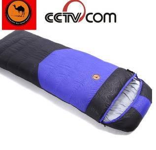 -30°羽绒睡袋户外秋冬单人拼接超轻保暖鸭绒睡袋拓步包邮