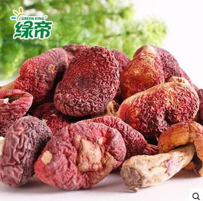 福建古田特产天然小红蘑菇 南北干货 200g野生正宗红菇包邮