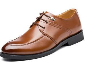 2015夏季新款男士皮鞋商务正装鞋英伦正品高档男系带低帮单鞋卡劲
