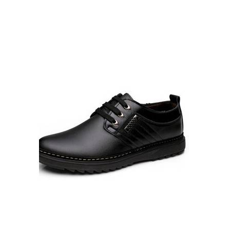 男鞋男士皮鞋透气板鞋男士休闲男鞋真皮鞋子卡劲