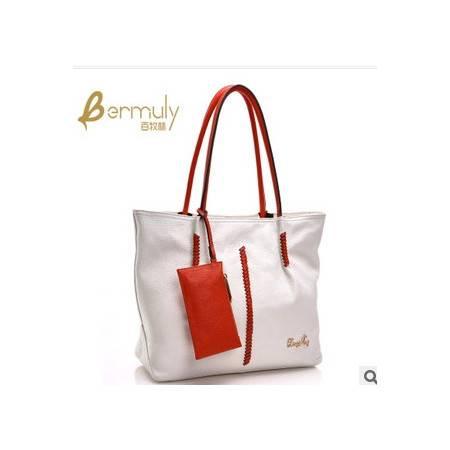欧美时尚单肩手提女士定型托特包新款大包包潮流女包包邮