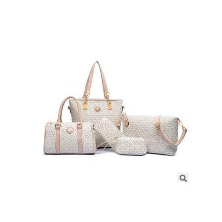 单肩斜挎女士高档手提包欧美时尚新款箭头五件套子母包征途包邮