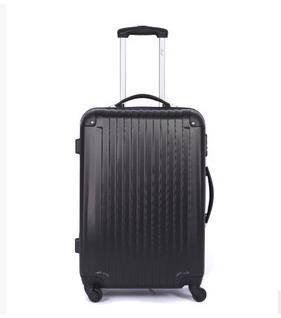 20寸万向轮磨砂面旅行箱男女行李箱正品abs拉杆箱右手方包邮