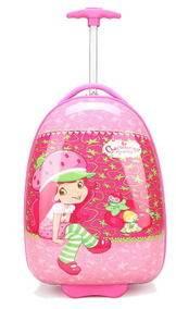 16寸儿童拉杆箱万向轮可爱旅行箱小学生行李箱子卡通箱包右手方包邮
