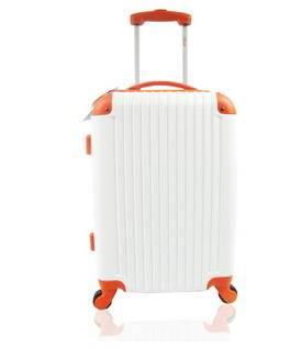 24寸万向轮旅行箱撞色配色行李箱baiti正品abs拉杆箱右手方包邮
