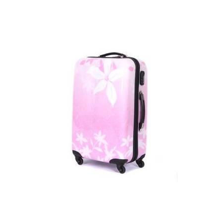 万向轮行李箱子紫荆花abs拉杆箱韩国女气质24寸旅行箱右手方包邮