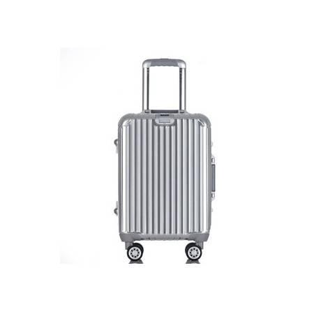 24寸金属拉杆箱 大飞机轮登机箱全镁铝合金旅行箱 右手方包邮