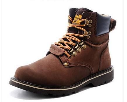 范特华特马丁靴男英伦男靴子工装靴潮真皮靴冬季男士棉鞋军靴短靴