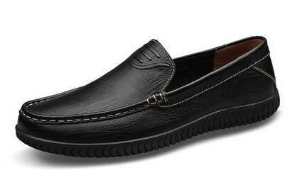 范特华特男鞋一脚蹬男士懒人皮鞋2015新款夏季正装商务皮鞋男真皮
