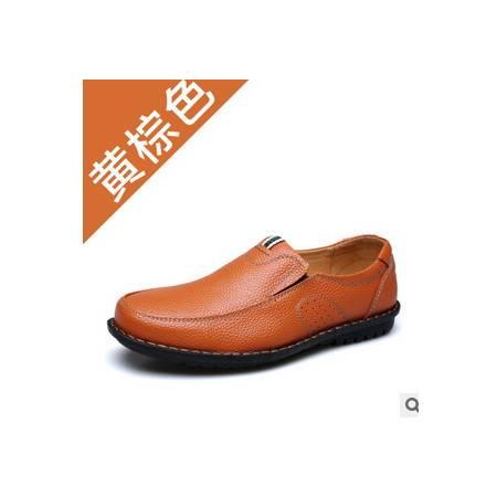 爸爸皮鞋温州鞋子男鞋秋季新品男士真皮休闲鞋承发