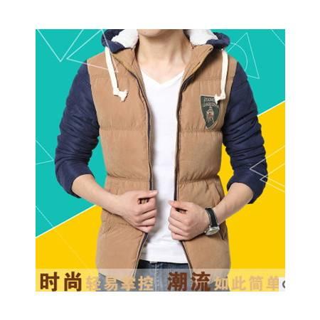 韩版时尚公牛男式棉服 百搭棉衣男装外套秋冬新款男士棉衣