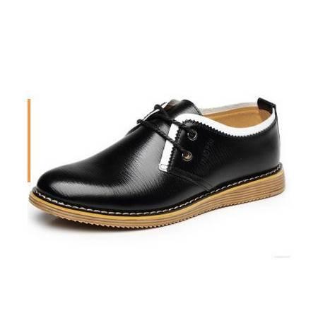 真皮隐形增高6厘米韩版男鞋休闲鞋男秋季新款男士增高鞋包邮卡劲