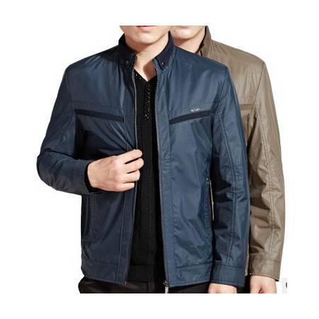 时尚休闲夹克外套男装 品牌上衣男式秋冬新款男士长袖夹克莫菲包邮