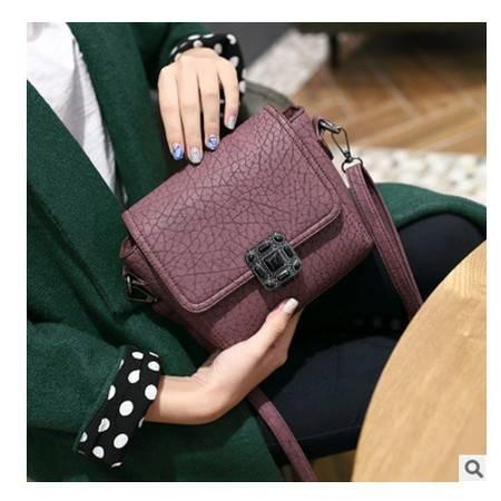 复古小包单肩斜挎包斜跨夏女式包包206新款韩版潮小方包时尚新安雅