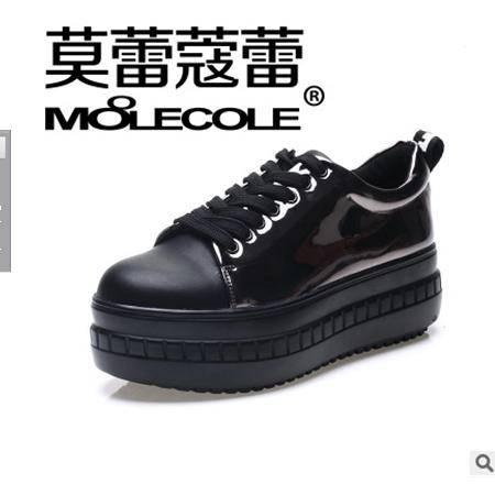 松糕坡跟内增高女鞋新款时尚休闲鞋厚底单鞋包邮