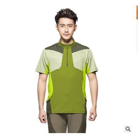 牛奶丝面料透气男女速干T恤公版潮亲子装韩式立领速干衣银锋