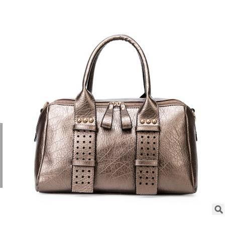 潮流百搭手提包包新款欧美时尚波士顿单肩斜跨女包征途