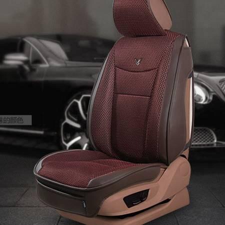 夏季凉垫全包通用舒适车座垫套透气冰丝纤皮3D舒适汽车坐垫豪远包邮