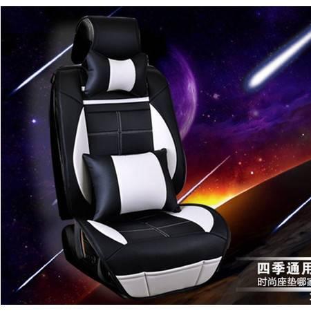 2016新款运动版皮革汽车坐垫全包座套哈佛h6本田缤智现代车套豪远包邮