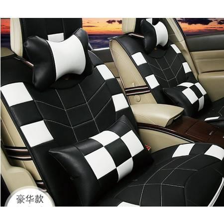 2016新款皮革汽车坐垫标志408座套比亚迪f3坐垫豪远包邮