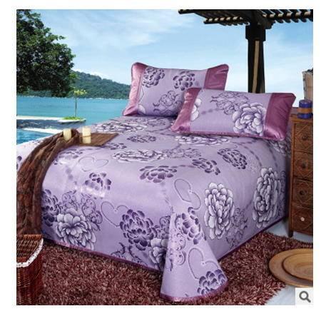 床单式加厚可折叠夏凉席空调席子床裙2016新品可水洗冰丝席三件套幻桃包邮