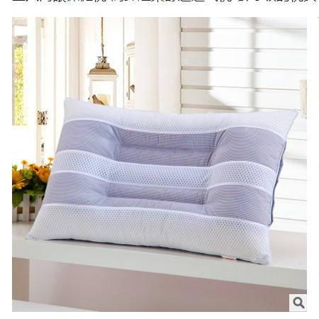 会呼吸的枕头 护颈椎助眠枕三只网眼保健枕 高弹超柔舒适透气枕优里卡